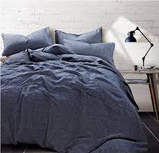 chambray duvet cover arrangement chambray denim linen duvet cover