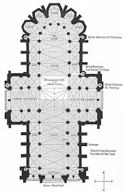 Gothic Cathedral Floor Plan  Architecture Plans  49396Cathedral Floor Plans