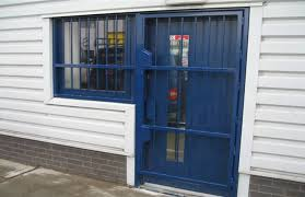 commercial security door. RSG3000 Security Door Gate On Commercial Shop In South London. S