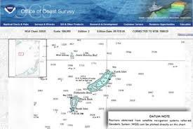 Dnc Chart Updates Uss Guardian Aground Dnc Chart Error Power Motoryacht