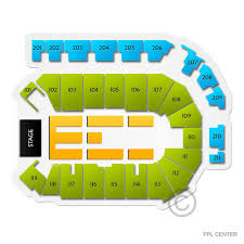 Ppl Center Allentown Pa Seating Chart 13 Abiding Ppl Center Concert Seating