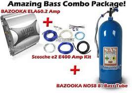 bazooka ela60 2 nos8 e400 ela602 nos8 e2 e400 amplifier 8 bazooka ela60 2 bazooka nos 8 e2 e400