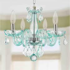 pink chandelier for kids room crystal chandelier for girls