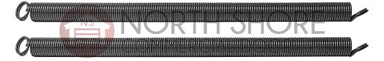 8 foot residential sectional garage door replacement extension spring 27 48 160 brown