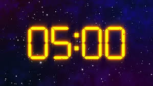 5 Minute Countdown Out In Stock Footage Video 100 Royalty Free 13400144 Shutterstock