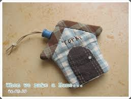 PANTIP.COM : J9289296 [Quilt Story] Key Cover ... When we make a ... & COM : J9289296 [Quilt Story] Key Cover ... When we make a Home ..  [�า�ฝีมือ] | Esconde chaves e chaveiros | Pinterest | Key covers and  Patchwork Adamdwight.com