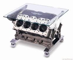 cool car engine metal coffee table with glass top bestpickr com cool unique coffee tables unusual ideas