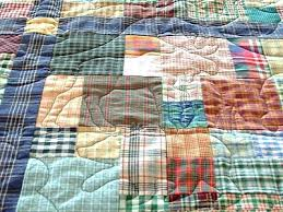 Flannel Quilts Patterns Black And Red Plaid Quilt Strip Rag ... & flannel ... Adamdwight.com