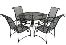 wrought iron patio set home depot