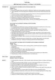 Sample Information Management Resume Management Information Systems Resume Samples Velvet Jobs 1