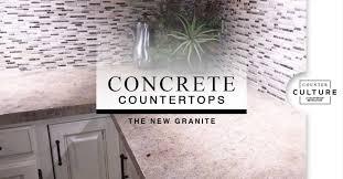 the new premium granite counter