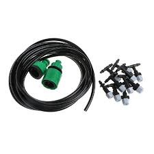 2019 5m garden plants irrigation patio misting hose mister nozzles cooling system adjustable dripper smart controller suits from hibooth 27 64 dhgate