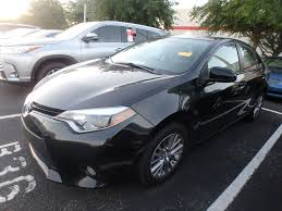 2014 Used Toyota Corolla 4dr Sedan CVT LE Plus at Central Florida ...
