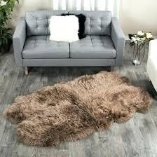 faux fur area rug 5x7 sheepskin area rug sheepskin area rug four pelt ft special faux faux fur area rug 5x7