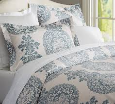 lucianna medallion duvet cover sham pottery barn regarding new residence king duvet cover remodel