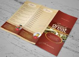 To Go Menu Templates Takeout Menu Templates Under Fontanacountryinn Com