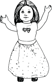 Coloring Pages American Girl Houseofhelpccorg