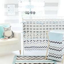 black crib bedding set chevron baby crib bedding set in aqua a zoom black white black crib bedding