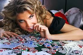 Wallpaper Casino token Face Girls Casino Hands Money playing cards