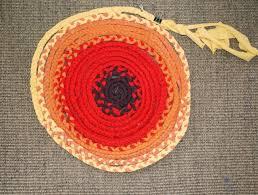braided rag rug tutorial no sew