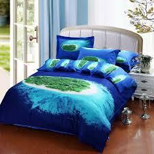 image of ocean blue bedspreads queen