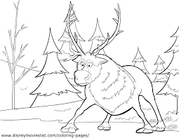 Coloring Sheets Frozen 01