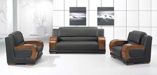 modern office sofas. Modern Concept Office Sofa With Wooden Arms Design Sofas