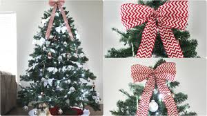 13 ways to make a tree bow topper