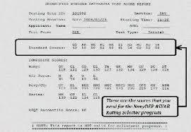 Army Asvab Score Chart Www Bedowntowndaytona Com