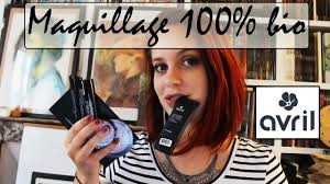 maquillage 100 bio avril beauté makeup beauty videos lifestyle beauty