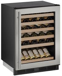 24 inch wine captain refrigerator with stainless steel mini fridge glass door and expendable