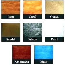 Concrete Floor Color Chart Ppg Metallic Paint Unitedmovers Co