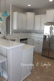 when i started looking for the counter tops i never thought that i would pick a white quartz