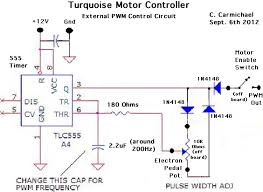 turquoise energy newsletter 56 the 555 pwm circuit has the interesting property of going neither to 0% or 100% there s some short time of charge or discharge that limits it to perhaps