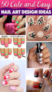 Simple Nail Art Designs 50 Cute Cool Simple And Easy Nail Art Design Ideas For 2016
