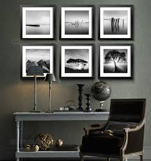 landscape photography wonderful pictures six frames black and white framed wall art wooden table chairs lamp  on black white framed wall art with wall art give you idea about black and white framed wall art framed