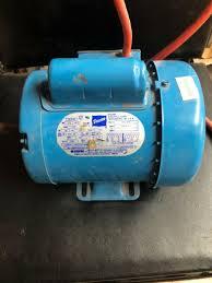 doerr motor electric 1 3 hp 115 230 v 1725 rpm 6 8 3 4 single