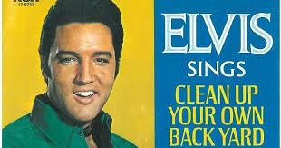 Elvis Presley  Elvis Clean Up Your Own Backyard