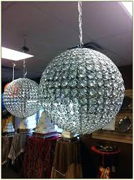 chandeliers sphere chandelier with crystal sheer shade ball chandeliers for low ceilings metal sphere chandelier with