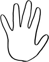 Free Handprint Template Printable Download Free Clip Art