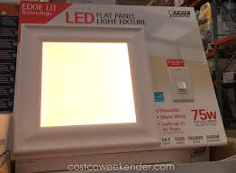 ensure your home is well lit with the low profile feit led flat panel light fixture