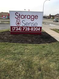 storage sense sign wayne mi