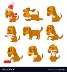 dog is mans best friend vector image