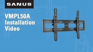 SANUS VMPL50A Installation Video