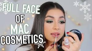 full face of mac cosmetics makeup tutorial how to get sleek straight hair