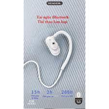 PIN 15 TIẾNG] Tai Nghe thể thao kim loại Bluetooth SENDEM E38 - chống nước  - pin trâu - Hàng cao cấp, Giá tháng 1/2021