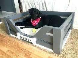 pallet dog bed such a great project house inspiration wooden frame diy dog bed frame