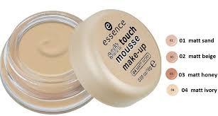 essence soft touch mousse make up natural looking matt plexion 16 gr 0 56 oz essence