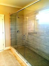 frameless glass shower doors cost shower doors cost semi frameless glass shower door replacement cost