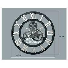 18 inch round wall clock inch wall clock inch wall clocks gear wall clock round inch 18 inch round wall clock